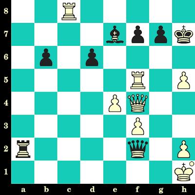 Les Blancs jouent et matent en 2 coups - Magnus Carlsen vs Sergey Karjakin, New York, 2016