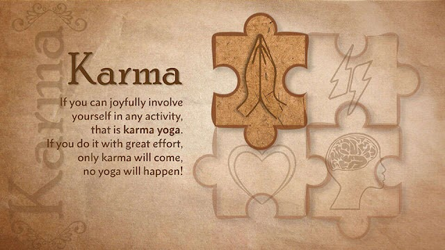 Karma Yoga the Energetic Milestone on Expressway of Happiness