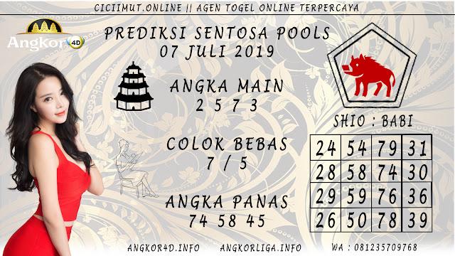 PREDIKSI SENTOSA POOLS 07 JULI 2019