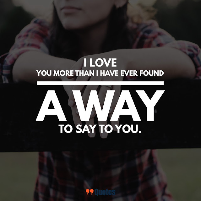 small quotes about love