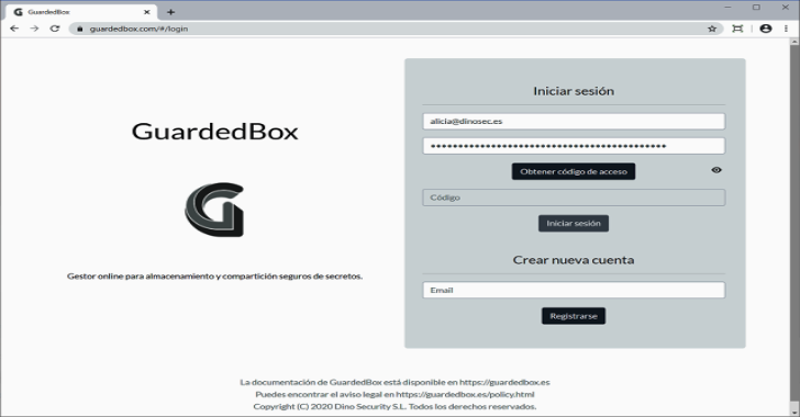 Guardedbox : Online Client-Side Manager For Secure Storage & Secrets Sharing
