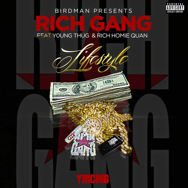 Rich Gang - Lifestyle (feat. Young Thug & Rich Homie Quan) - Single  Cover