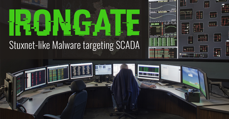 Irongate — New Stuxnet-like Malware Targets Industrial Control Systems