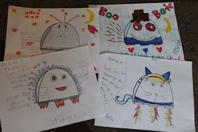 BATTLE BOO Drawings from Center Elementary School