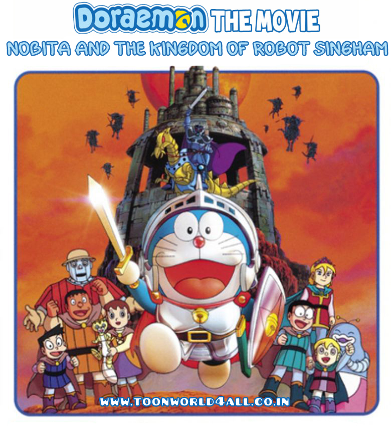 Doraemon: Nobita In The Robot Kingdom (2002) Hindi Dub