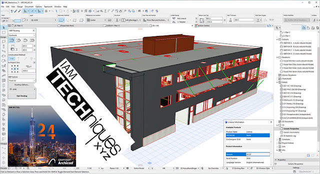 Graphisoft Archicad 24 build 3008