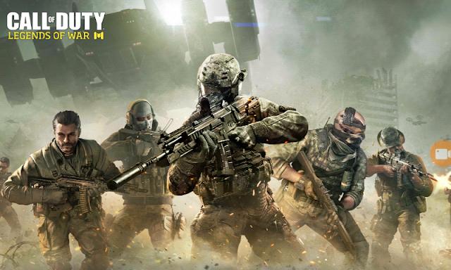 تجربة لعبة Call OF Duty Legends OF War باعلى جرافيك للاندرويد مع روابط التحميل APK+OBB