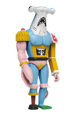 Robo Hammerhead Soft Vinyl Figure by Luke Pelletier x Mighty Jaxx