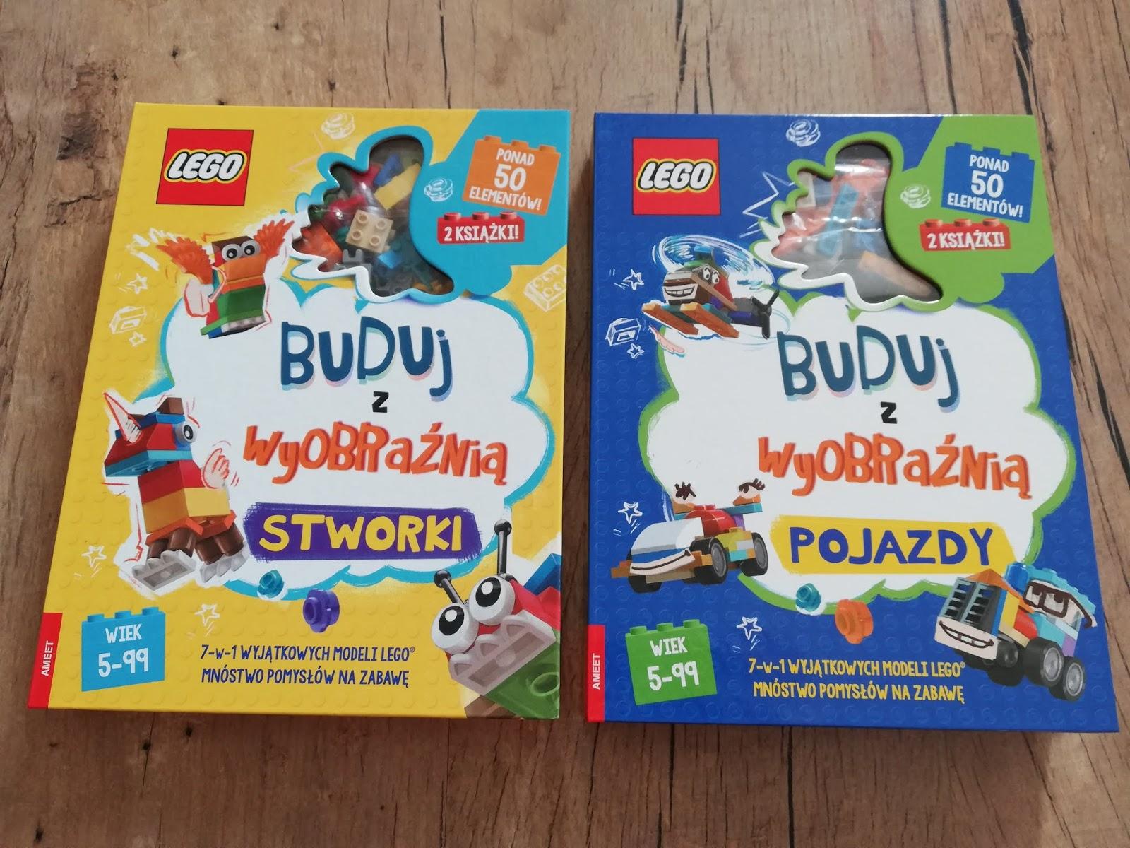 Lego buduj stwory