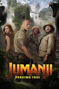 Capa Jumanji: Próxima Fase Torrent – BluRay 720p | 1080p Dual Áudio Torrent (2020) Download