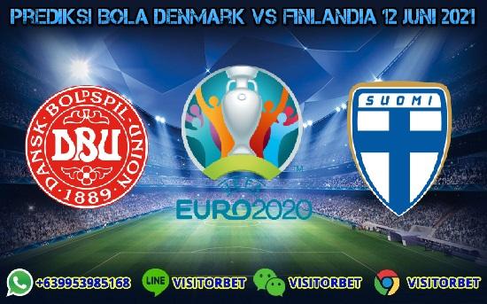 Prediksi Skor Denmark Vs Finlandia 12 Juni 2021