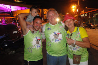 Bloco Clean sheet ( Ficha Limpa) fez a folia no sábado de carnaval em Bom Jardim