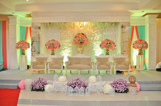 Dekorasi Pernikahan Warna Pastel
