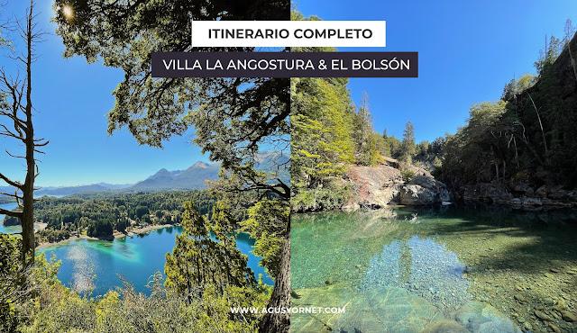 Itinerario Villa la Angostura y el bolson de 5 días