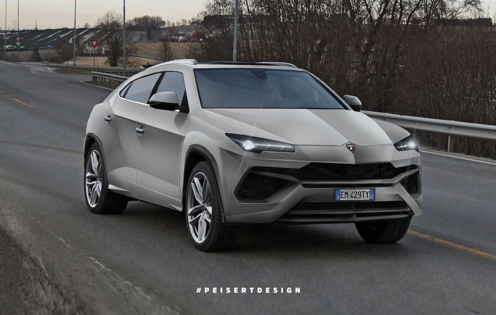 2017 Lambo Price >> 2018 Lamborghini Urus: This Is A Realistic Interpertation Of The Production Model | Carscoops