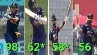 India vs England 1st ODI 2021 Highlights