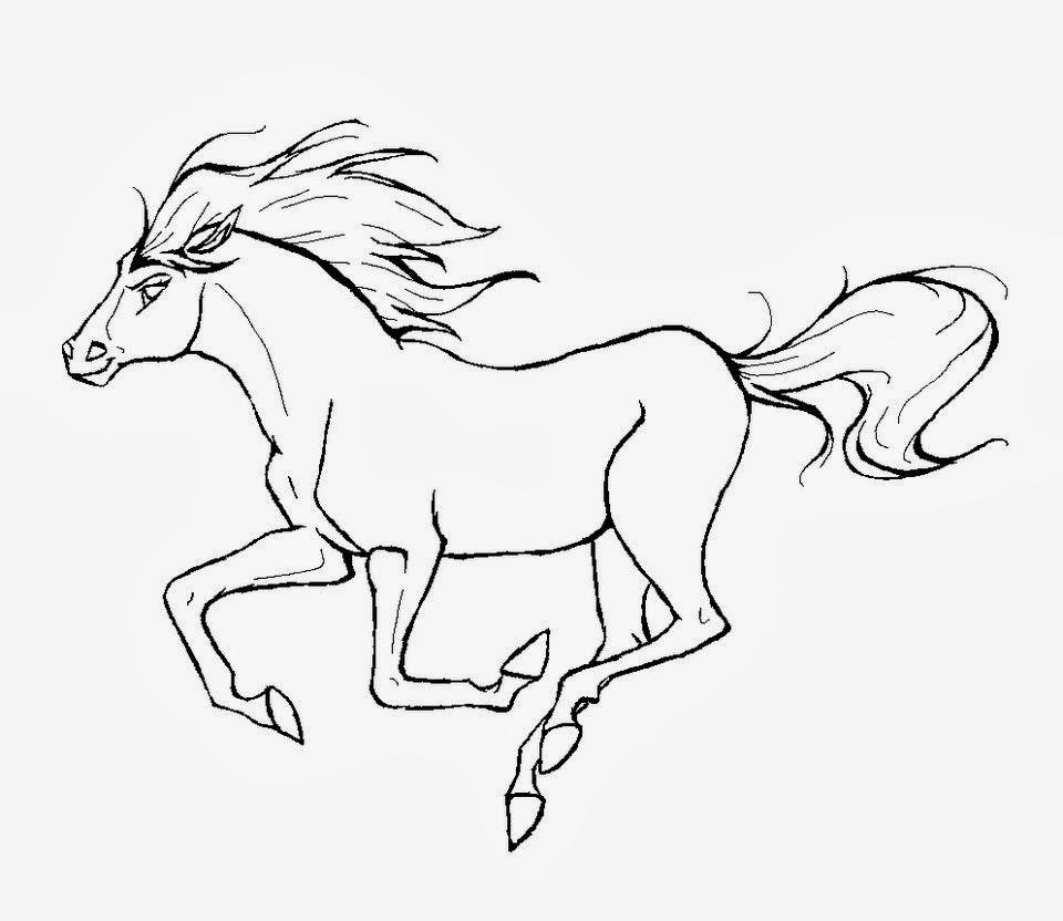 Kleurplaten Paarden Spirit.Star Stable Kleurplaat