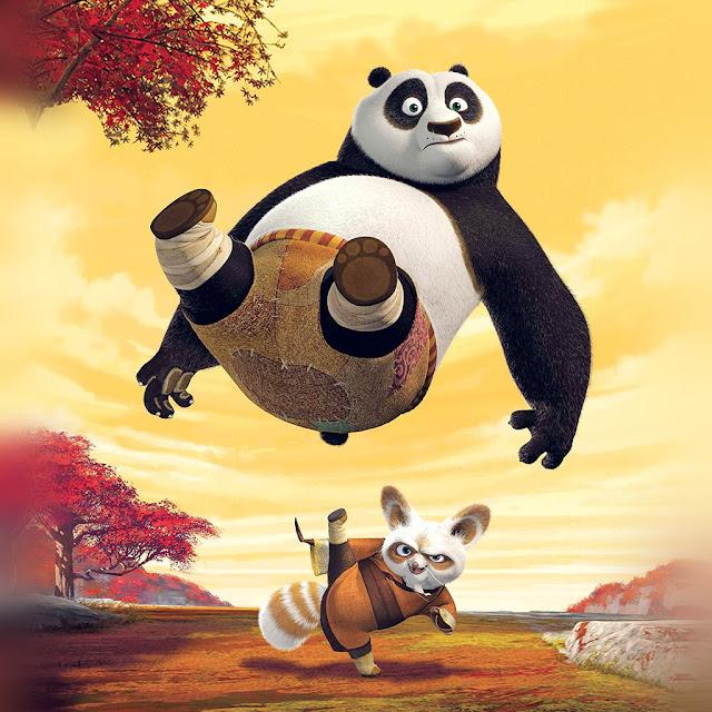 kung fu panda, wallpaper android, cartoon