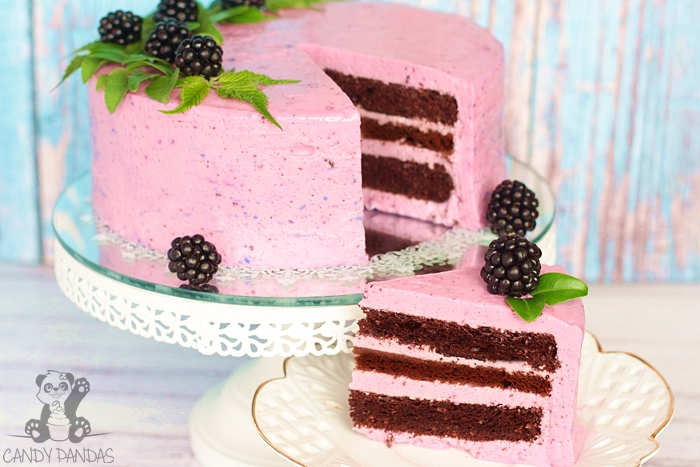 Proteinowy, jagodowy tort serowy (bez glutenu, cukru białego)