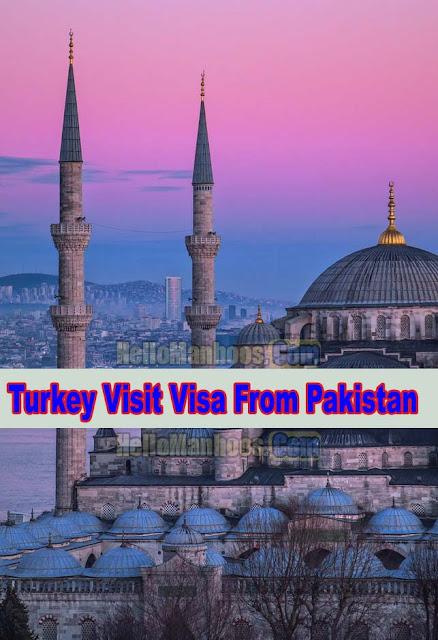 Turkish Visa Requirements For Pakistani Citizen 2021
