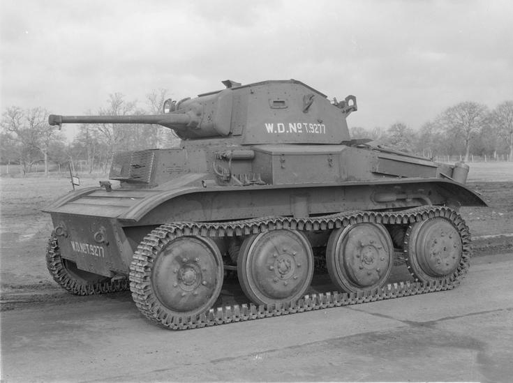 Mk VII Light Tank 'Tetrarch'