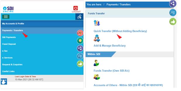 Net Banking Se Paise Kaise Transfer Kare | Internet Banking | Money Transfer