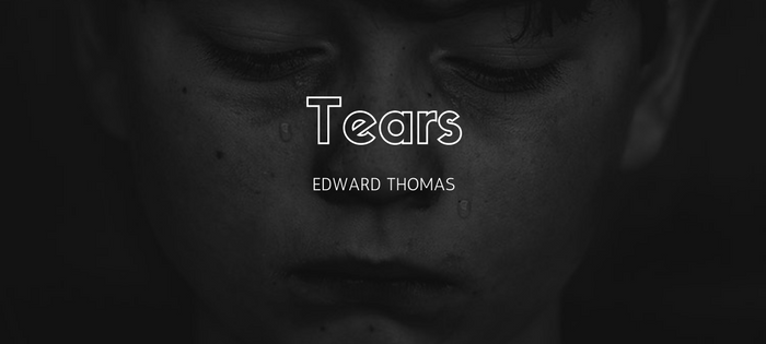 Analysis of Edward Thomas' Tears