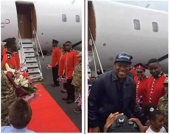Chris Oyakhilome  was recieved in London by his followers like a king{ photos}