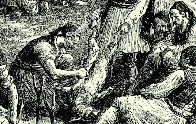 """Το Πασχαλινό έθιμο με το """"διάβασμα"""" της σπάλας του αρνιού - Το περιστατικό στο Ναύπλιο 1826"""