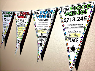 Place Value Pennant