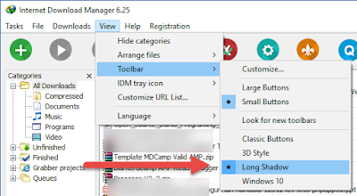 Cara Mengganti Toolbar IDM Dengan Mudah