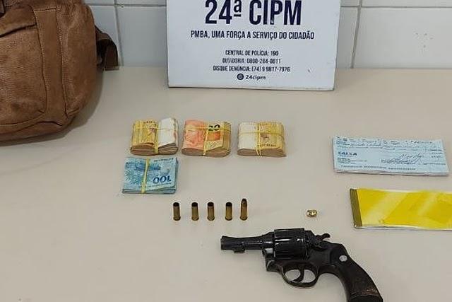 Polícia prende homem após roubo a distribuidora de água mineral na Chapada Diamantina