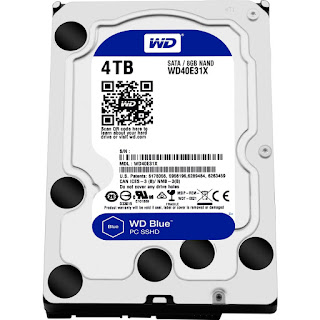 Hard Disk PC Western Digital Green dan Blue Terbaru 2016
