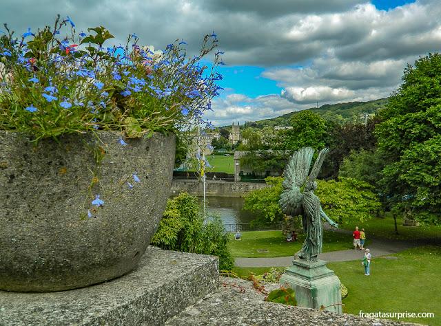 Parade Gardens, Bath, Inglaterra