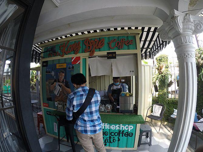 Lokasi Kopi Kong Djie Jogja di Jalan Munggur