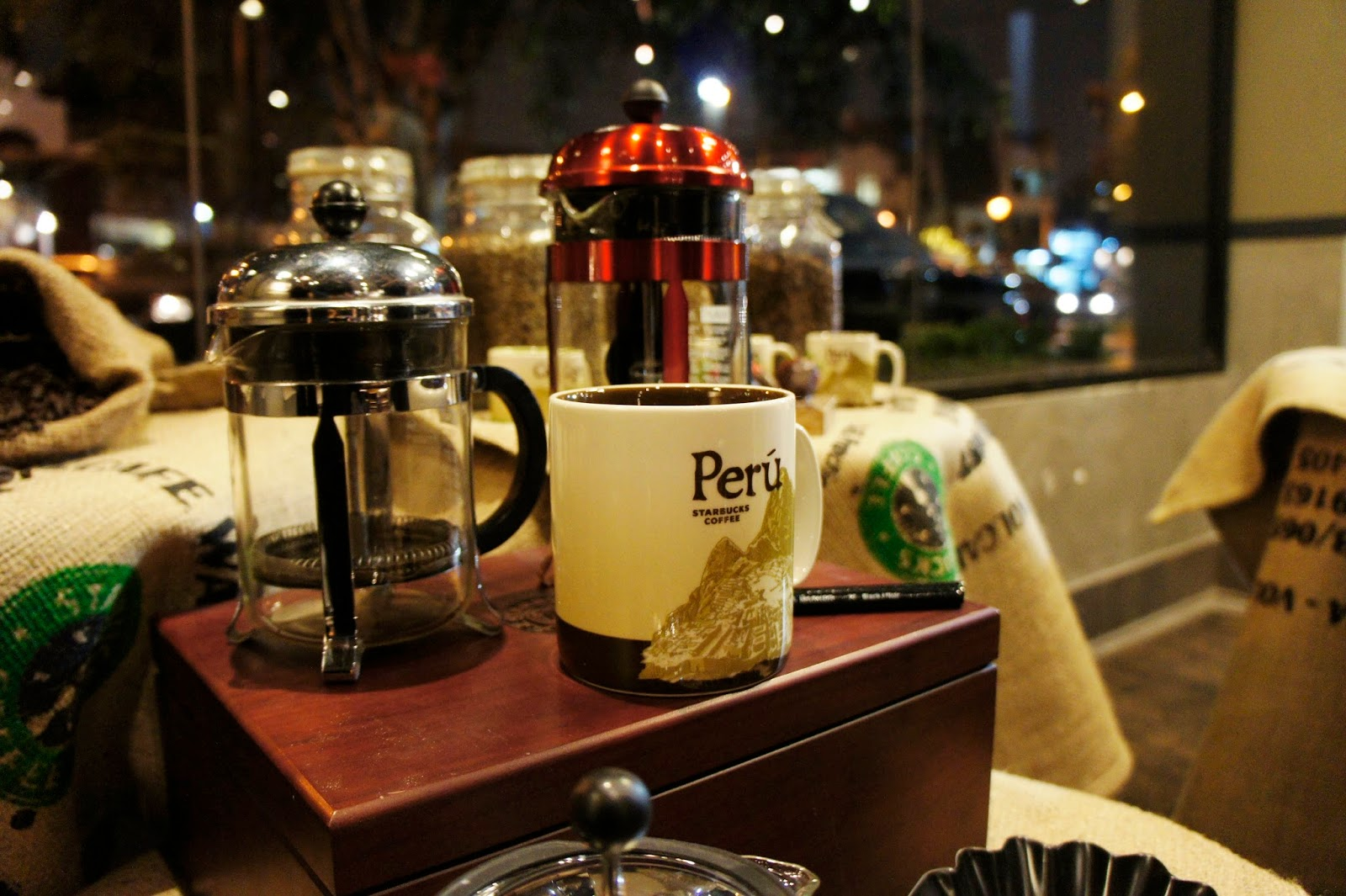 Cafetera  francesa, Starbucks