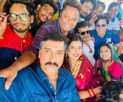 ghar jamai film shooting