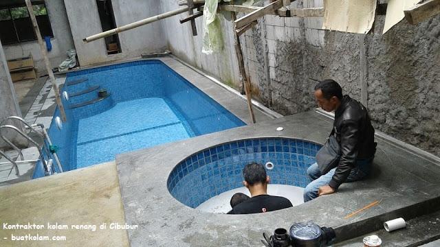 kontraktor kolam renang di cibubur, jakarta timur