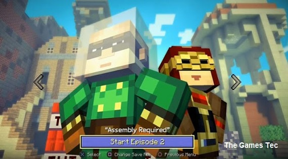 Minecraft story mode season 2 all episodes apk download | Minecraft