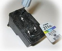 ink cartridge 211 tricolor refill