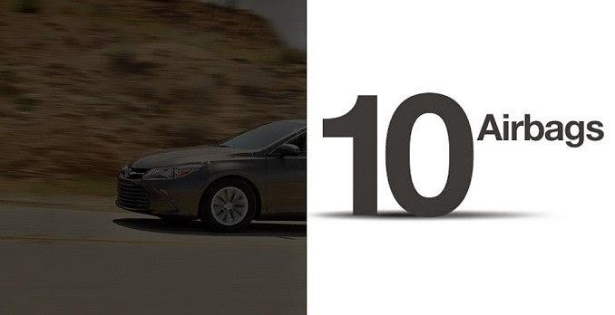 cam 2015 toyota tan cang 7 - 10 hệ thống an toàn vượt trội trên Toyota Camry 2021