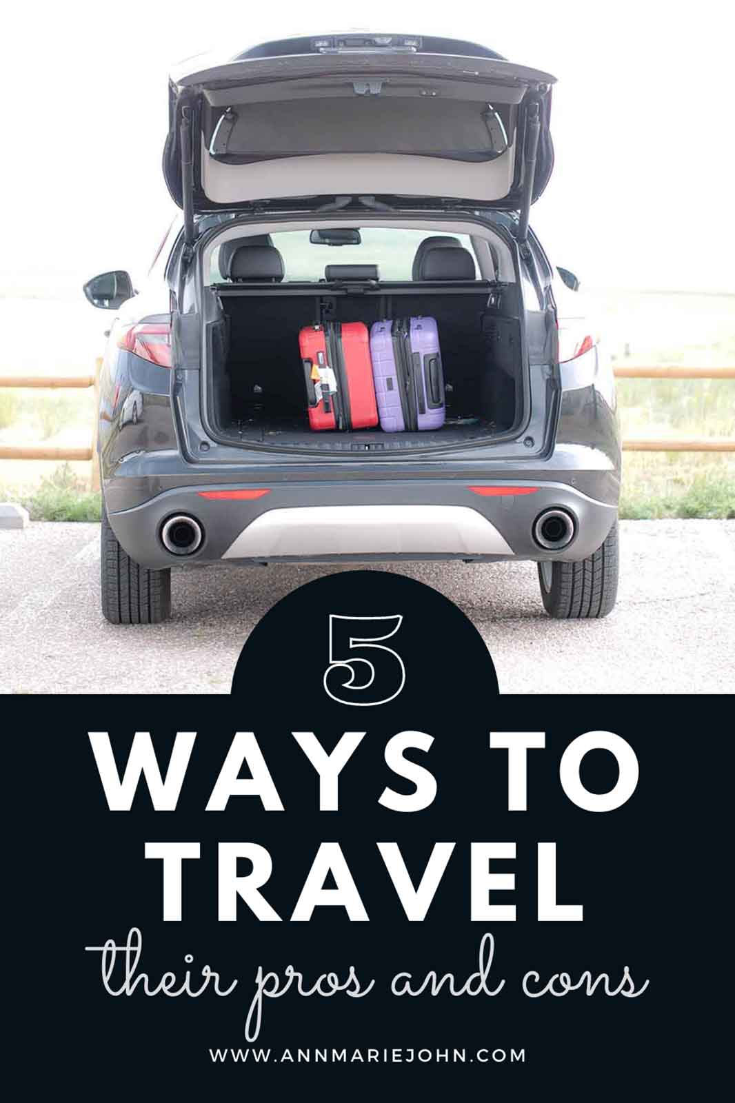 5 Ways to Travel, and Their Cons and Pros