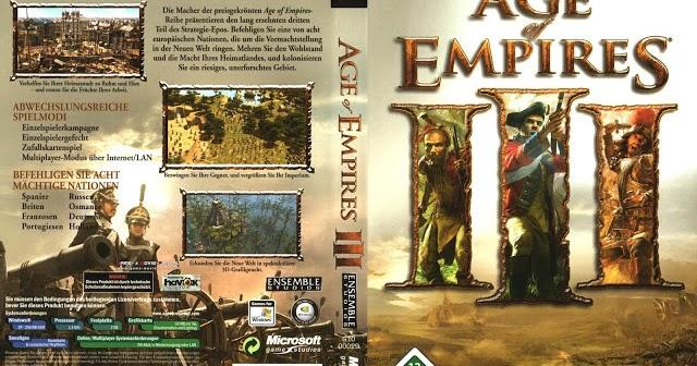 تحميل لعبة عصر الامبراطوريات 3 كاملة