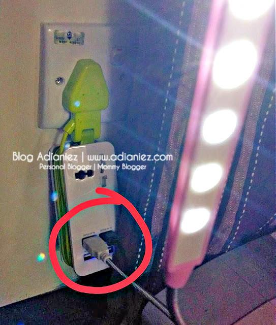 Kecil Tapi Sangat Terang | USB led light
