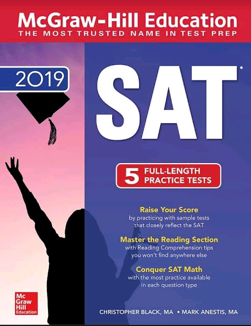 McGraw-Hill Education SAT 2019 5 Full-Length Practice Tests