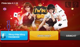 Thủ thuật chơi game iWin bằng tài khoản Facebook