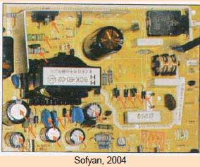 Gambar 6.82: Tanda Panah Menandakan Komponen yang Mudah Rusak