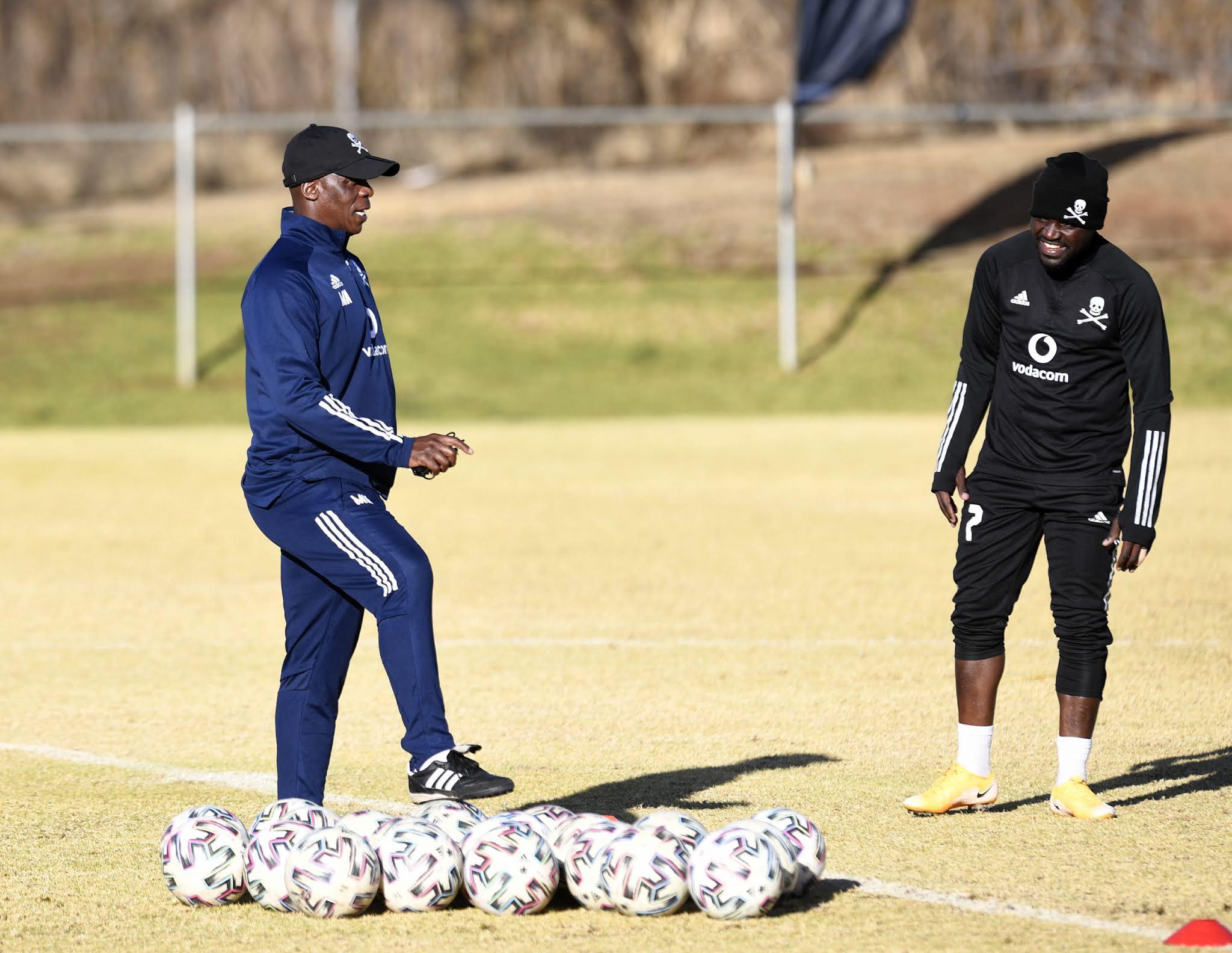 Mandla Ncikazi and Gabadinho Mhango