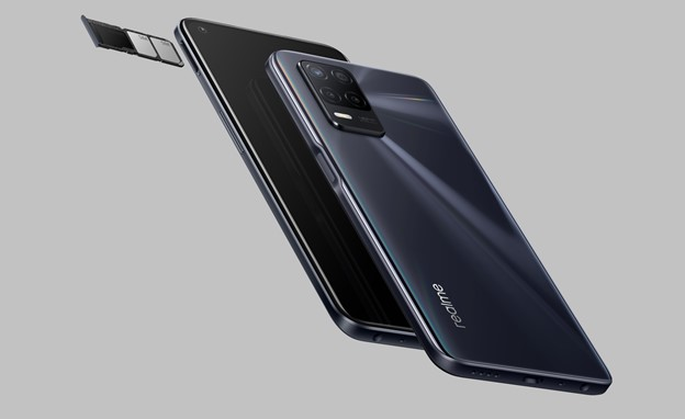 realme 8 5G - 3-card SIM Tray