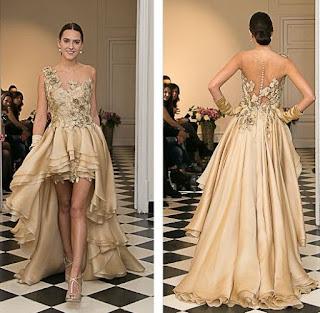 Vestidos de Novia Dorados